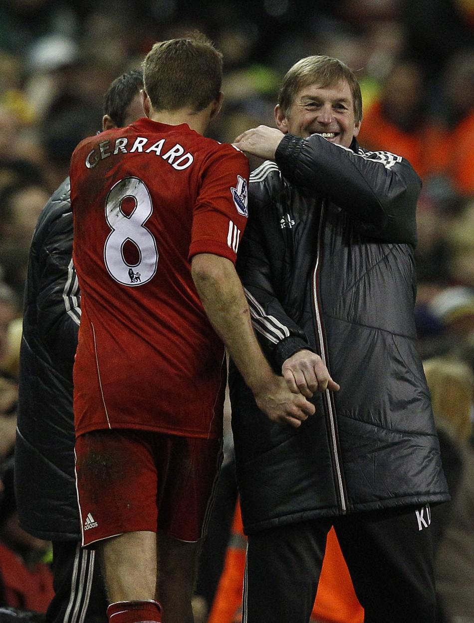 Gerrard and Dalglish
