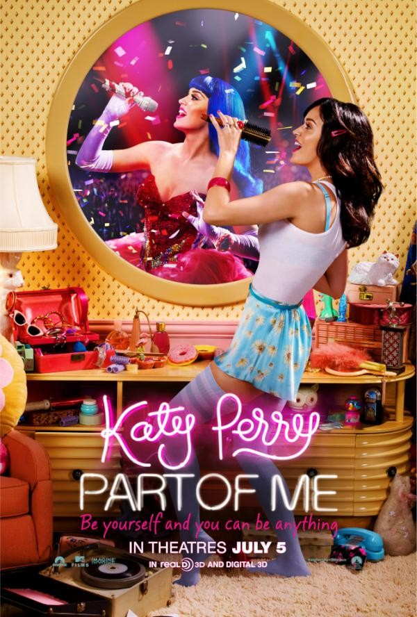 Katy Perry: Part of Me 3D Movie Poster