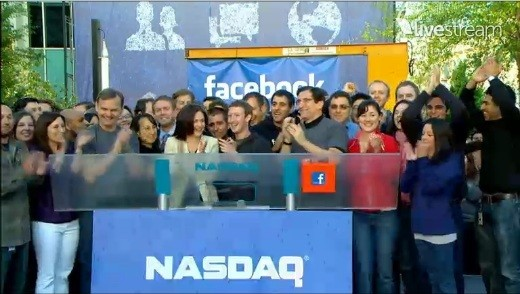 Facebook Floats on NYSE