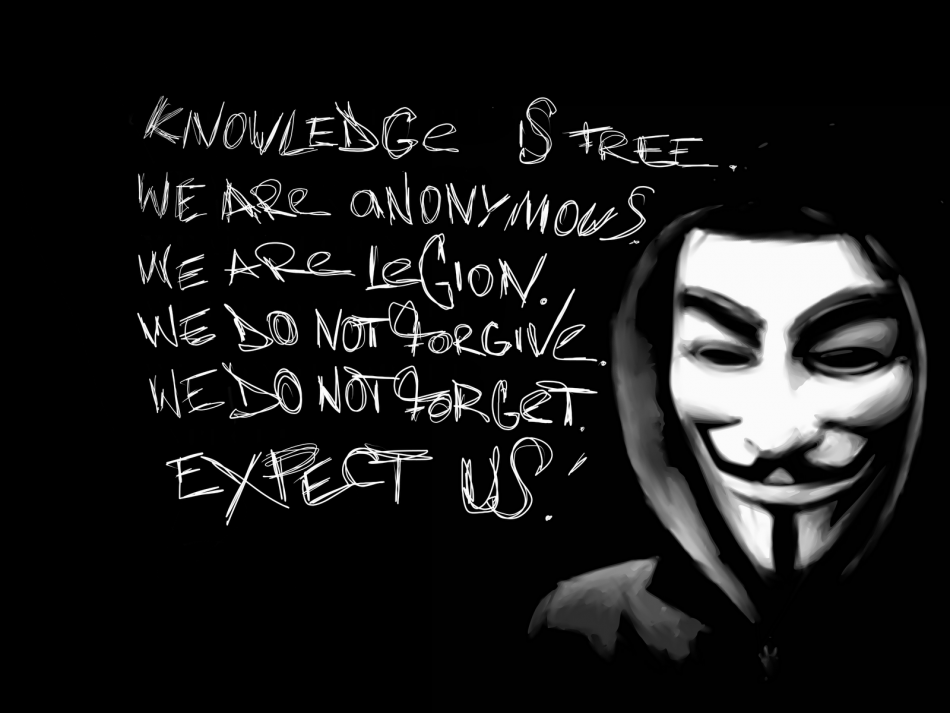 Anonymous occupy