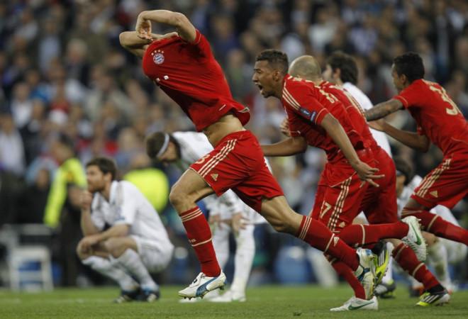 Real Madrid vs Bayern Munich, Champions League Semi-Final Second Leg