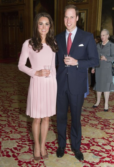 Kate Middleton in her Emilia Wickstead Dress