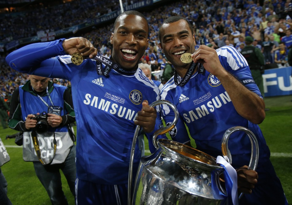 Chelsea Champions League victory.