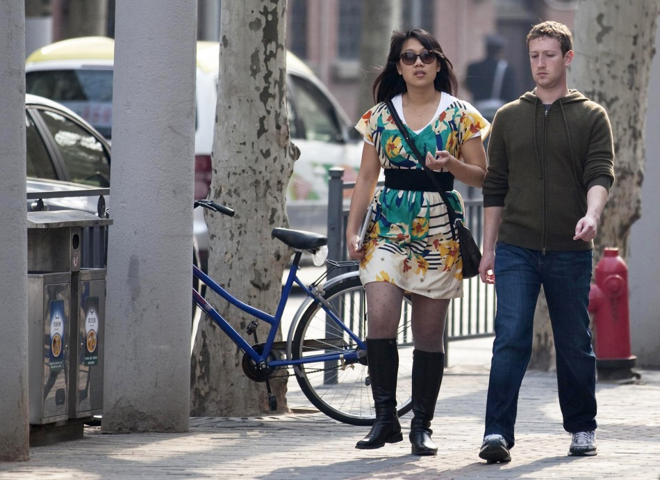 Priscilla Chan & Mark Zuckerberg