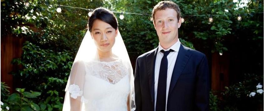 Mark Zuckerberg Marries Girlfriend Priscilla Chan