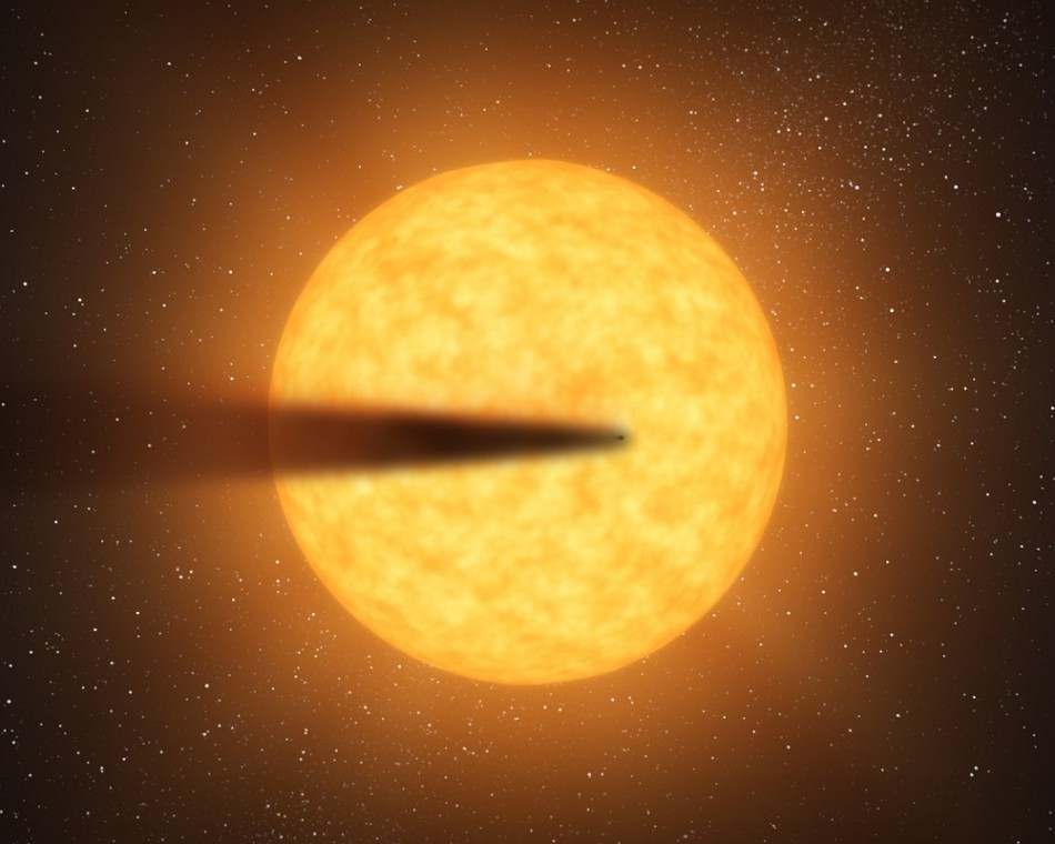 Nasa Space Telescope Captures Planet Disintegration