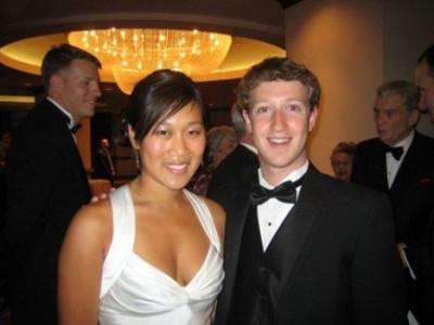 Mark Zuckerberg and Priscilla Chan married