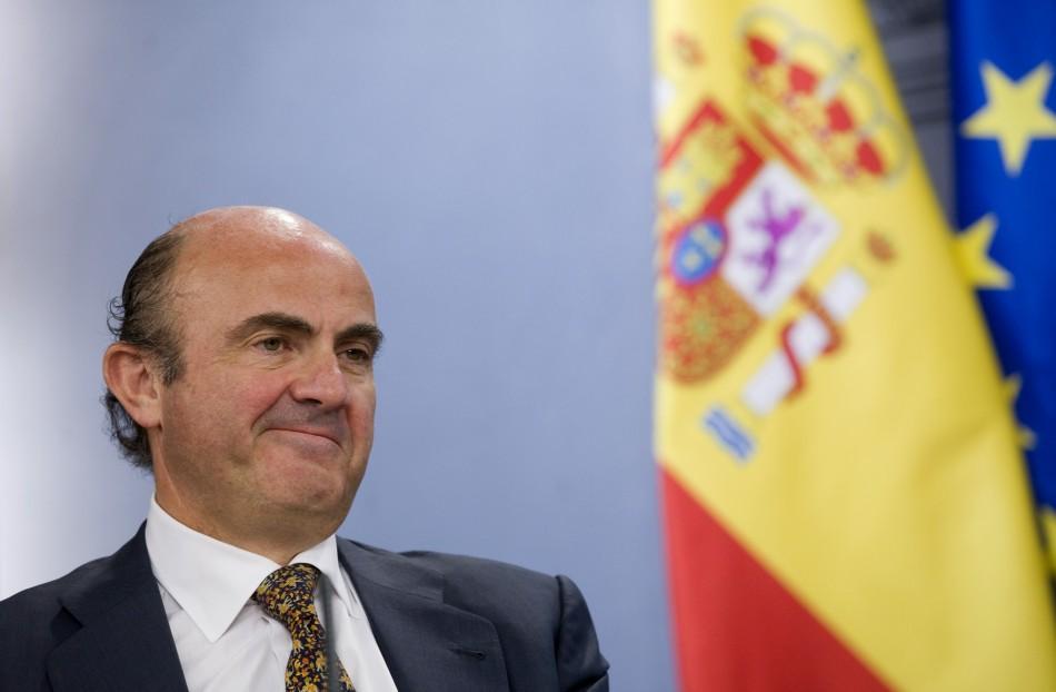 Luis De Guindos, Economy Minister, Spain