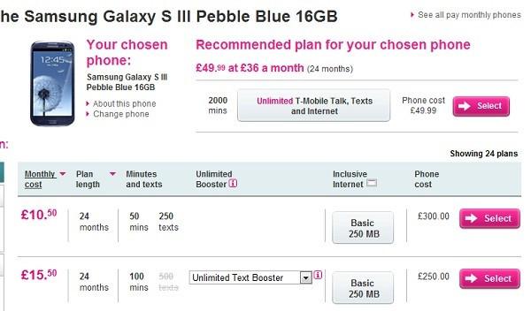 Samsung Galaxy S3 Release Date Deals