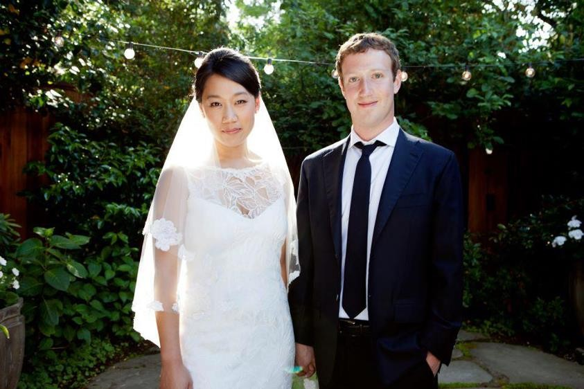 Facebook founder Mark Zuckerberg surprised everyone when he married his long-time girlfriend, Priscilla Chan, in a ceremony at the couples home