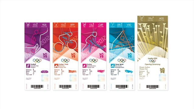 London 2012 Olympic Ticket Design Officially Unveiled by LOCOG