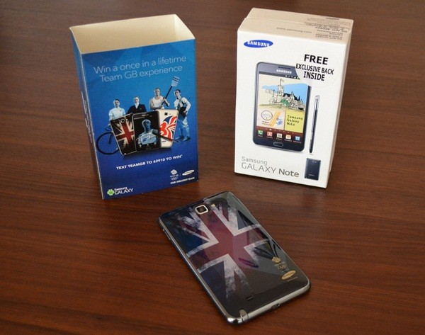 special edition of the Samsung's Galaxy Note and Galaxy Y offered by O2 carrier