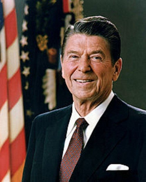 Ronald Reagan's blood is currently on sale at PFC Auctions. (wikipedia)