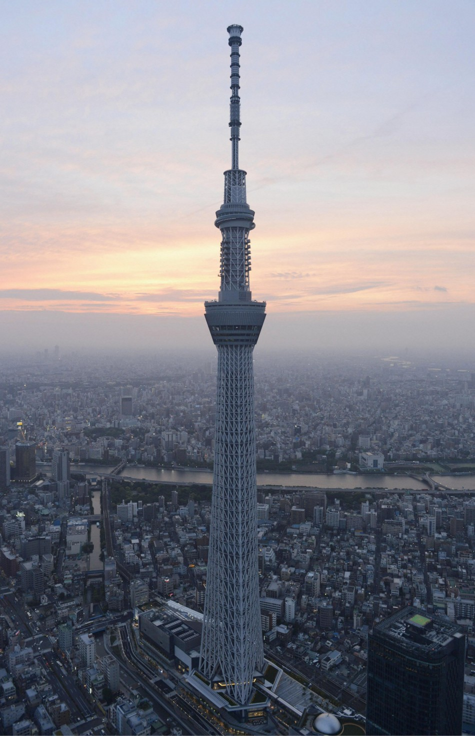 Tokyo Skytree  World U2019s Tallest Tower And Japan U2019s New