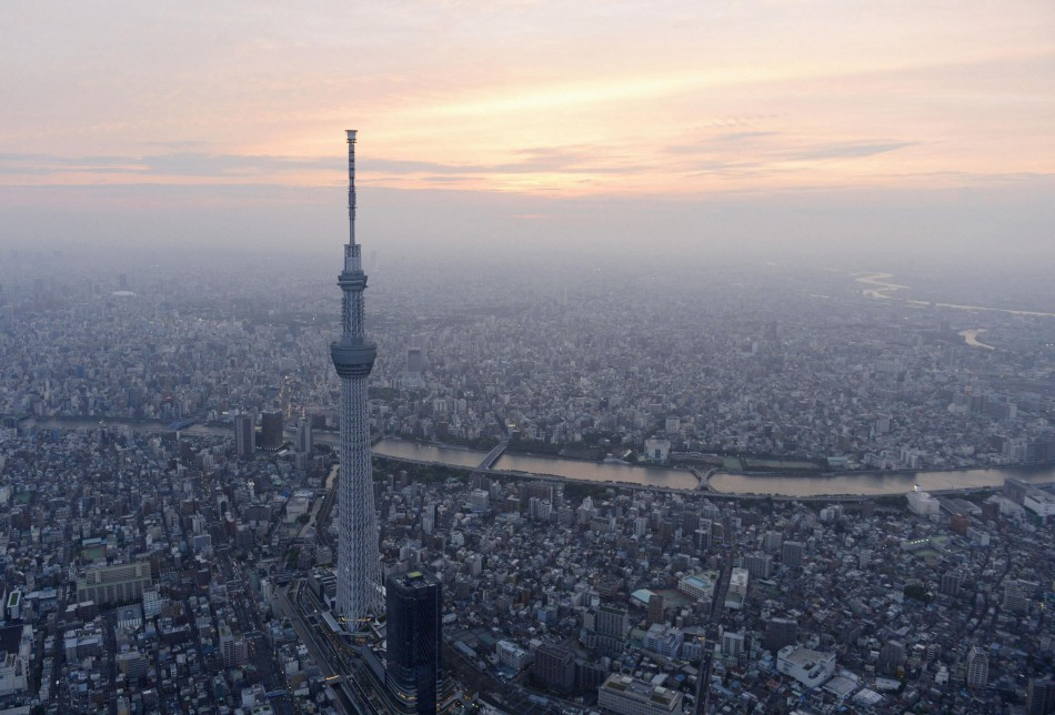 Tokyo Skytree Worlds Tallest Tower Opens
