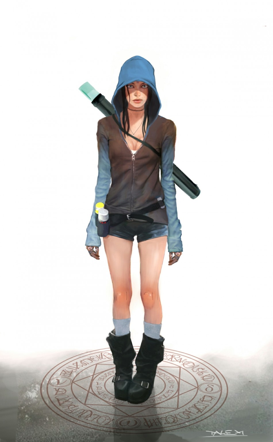 DmC Devil May Cry reboot: New character Kat concept art