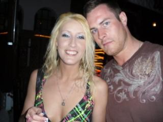 Amanda Logue, 30, and her boyfriend Jason Andrews pummeled and stabbed 41-year-old Dennis Abrahamsen.