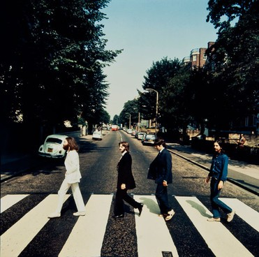 Backwards Abbey Road photo