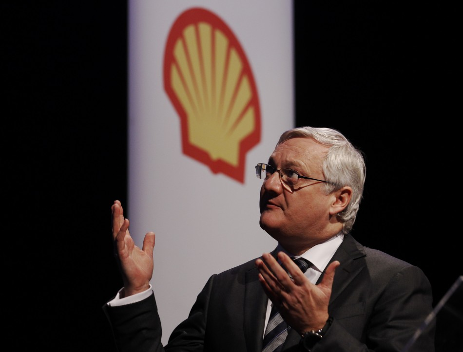 Shell Peter Voser Executive pay