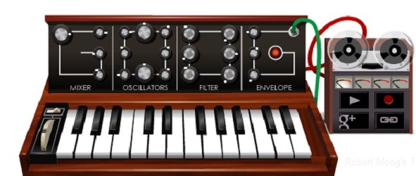 Google's new doodle celebrates Robert Moog's 78th birthday with working Moog Synthesizer