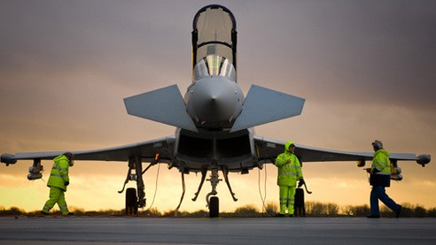 BAE Systems Typhoon eurofighter