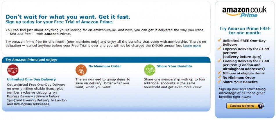 amazon prime misleading delivery times asa