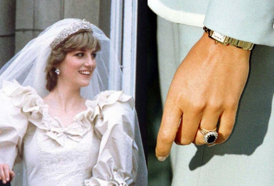 engagement rings kate middleton diana princess ring
