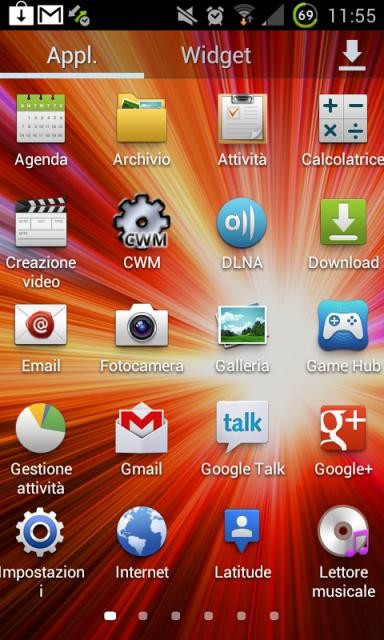 The Samsung Galaxy S3 TouchWiz launcher has been ported to the Galaxy S2 by an XDA Forum member named Smando.