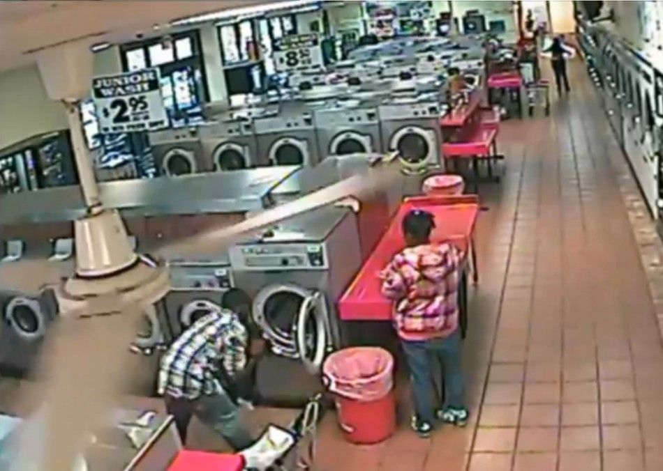 """It would appear the male in the video didn't mean anything malicious by his actions but put the child in the dryer """"as a joke""""."""
