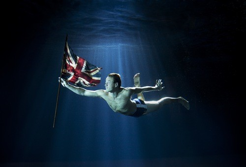 Fogle, 38, has said he hopes to make the journey in 100 days which will see him spending up to 12 hours a day swimming.