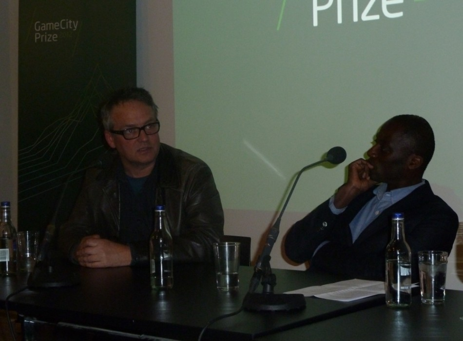 NOTTINGHAM GAMECITY debate point of videogames charlie higson Ekow Eshun
