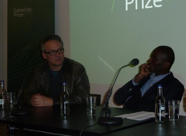 NOTTINGHAM GAMECITY debate point of videogames charlie higson Ekow Eshun