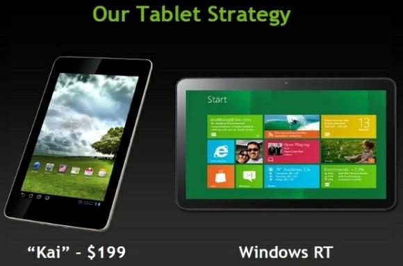 Google Nexus Tablet Nvidia Kai Platform
