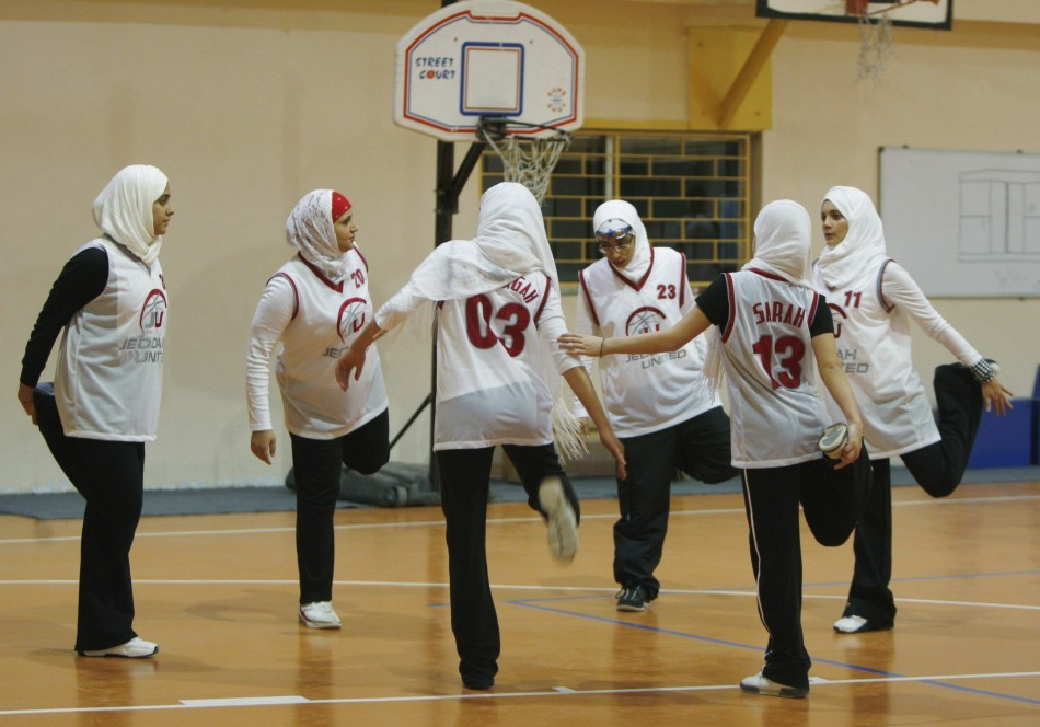 Female athletes in Saudi Arabia may miss out on competing in London 2012 Olympic Games