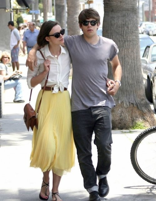 Keira Knigtley and James Righton