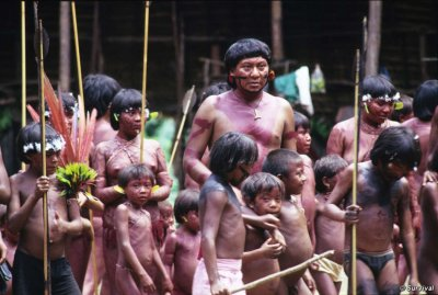 Rare Aerial Footage Showing Uncontacted Yanomami Indian Tribe in Brazil Released
