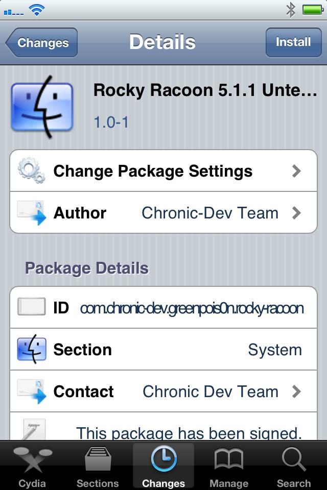 Rocky Racoon 5.1.1