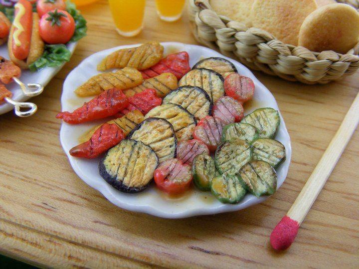 Shay Aaron Miniatures039 Summer Barbecue Platter