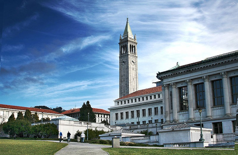 10. University of California Berkeley, US