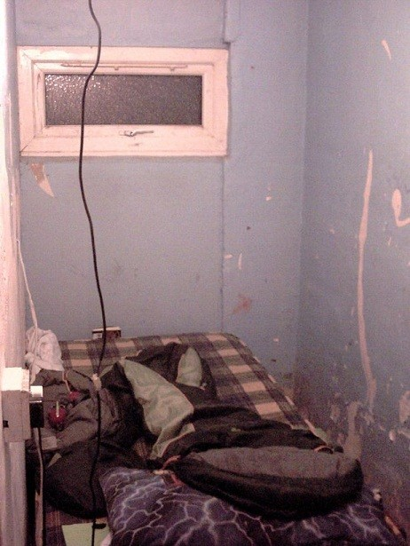 Image of the bunker where the boy was forced to sleep (Lancashire Constabulary)