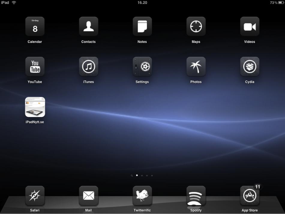 Winterboard iPad