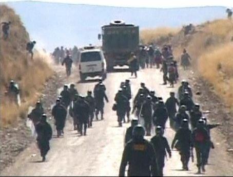 Protests at Xstrata's Tintaya Mine