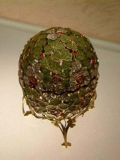 Clover Egg For Nicolas II