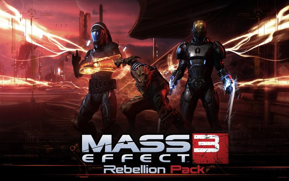 'Mass Effect 3: Rebellion' DLC