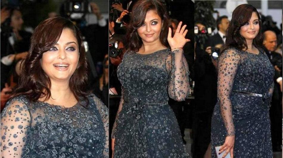 Aishwarya Rai at Cannes Red Carpet 2012. Image Credit: Facebook