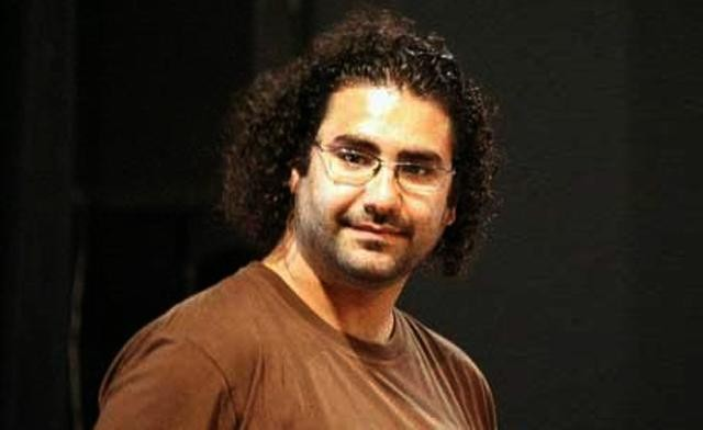 Egyptian activist Alaa Abdel-Fattah has been accused of involvement in a fire that damaged presidential candidate Ahmed Shafiq