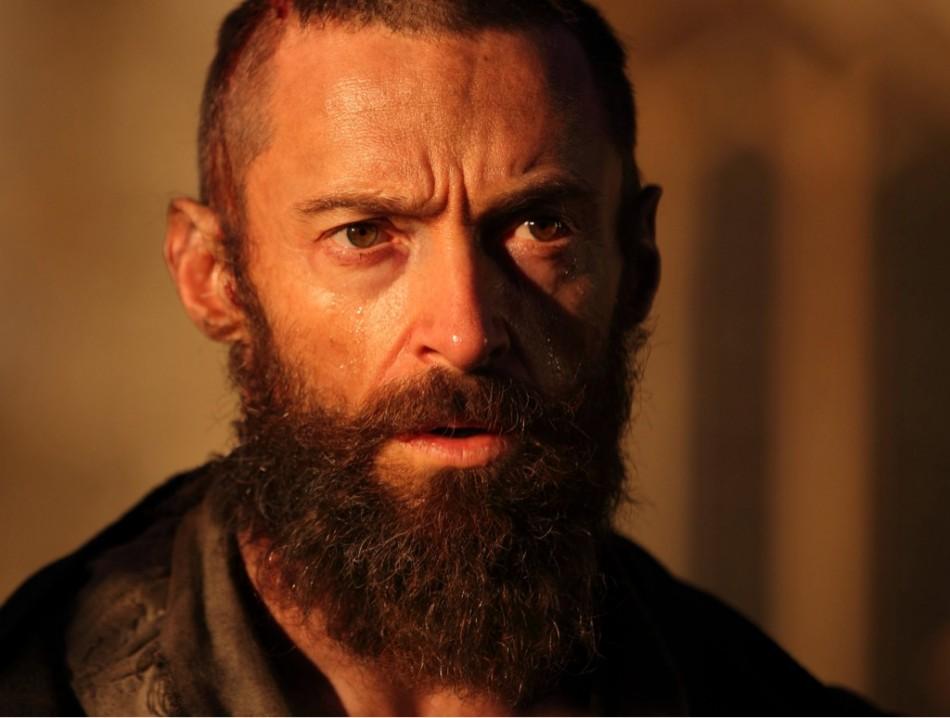 Hugh Jackman plays ex-prisoner Jean Valjean in latest film adaptation of Les Misérables