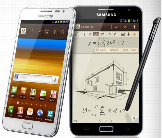 Samsung Galaxy Note N7000 Vs HTC Desire S