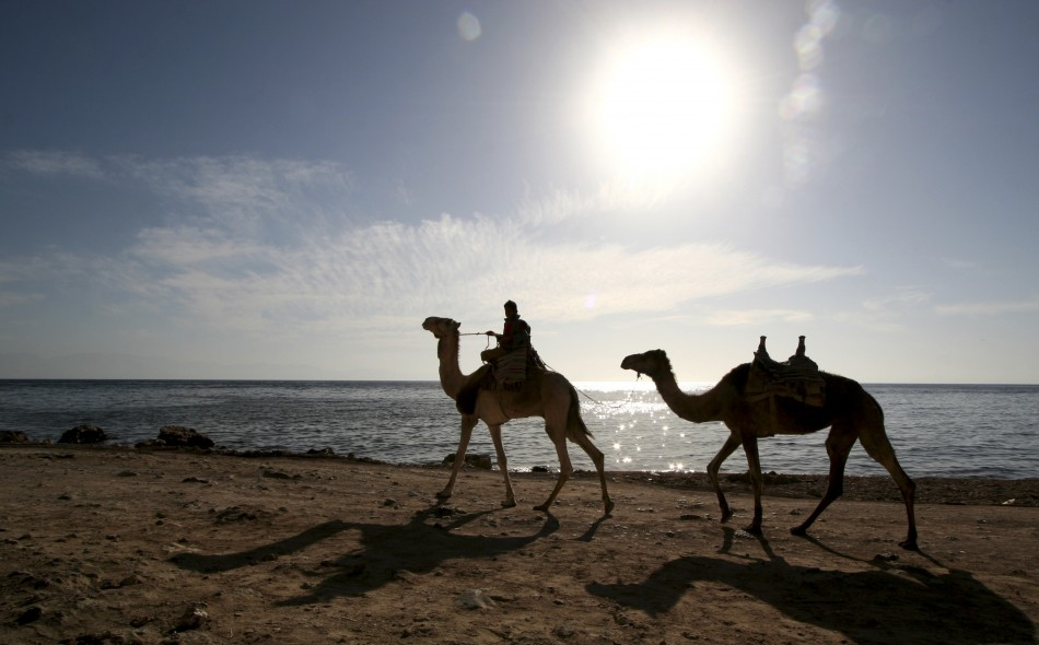 Two Americans tourists kidnapped while travelling in Egypt's Sinai Peninsula