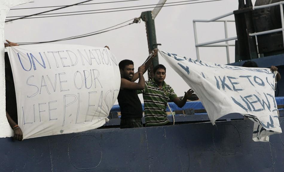 Sri Lankan protesters